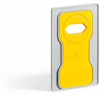 Подставка Durable 7735-04 Varicolor для мобильного телефона 84x134x4.5мм желтый / серый