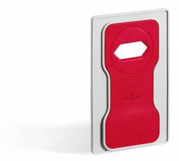 Подставка Durable 7735-03 7735-04 Varicolor для мобильного телефона 84x134x4.5мм красный / серый