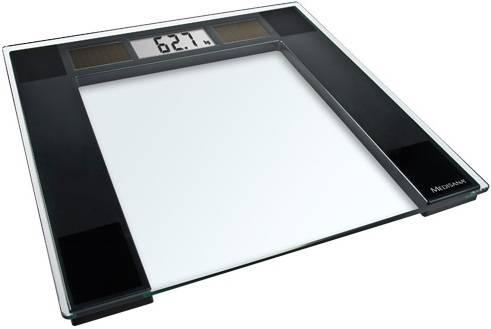 Весы напольные электронные Medisana PSS прозрачный/черный (40470) - фото 1