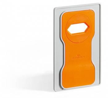 Подставка Durable 7735-09 Varicolor для мобильного телефона 84x134x4.5мм оранжевый / серый
