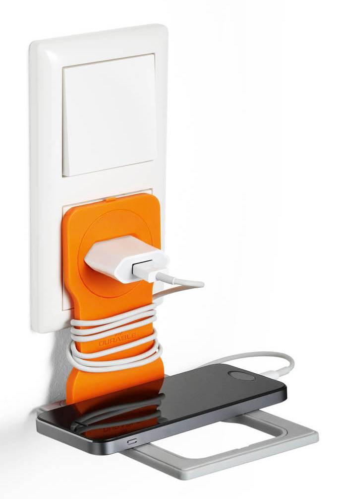 Подставка Durable 7735-09 Varicolor оранжевый/серый - фото 2
