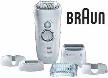 Эпилятор Braun 7-561 WD белый/серый (81611907)