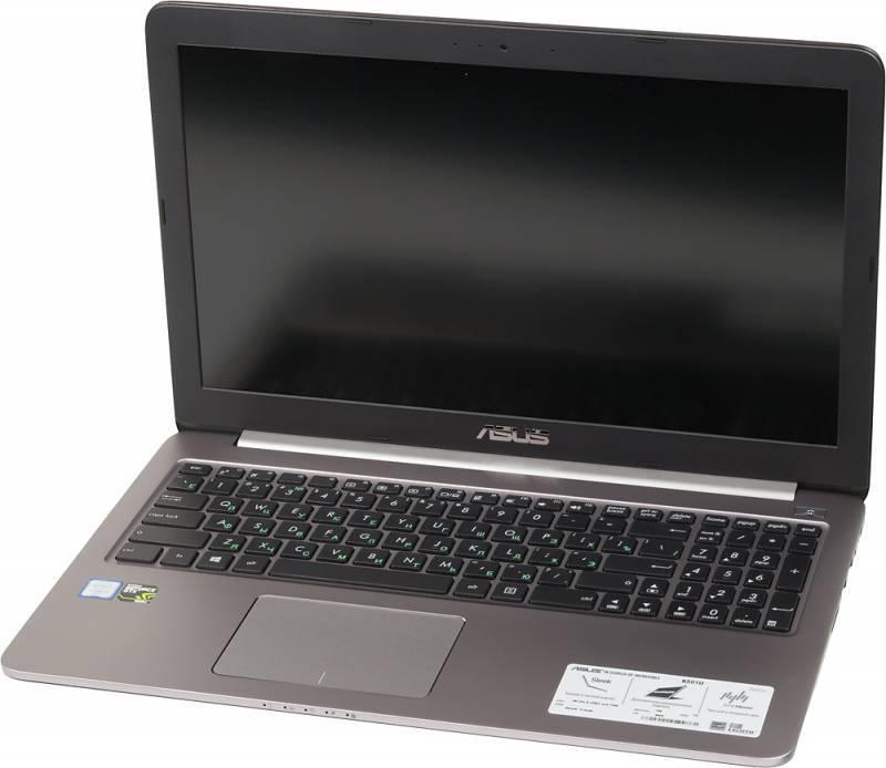 "Ноутбук 15.6"" Asus K501UX-DM035T серый - фото 1"