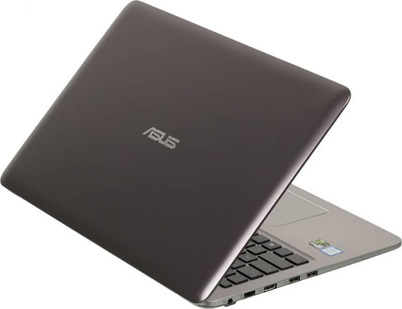 "Ноутбук 15.6"" Asus K501UX-DM035T серый - фото 2"