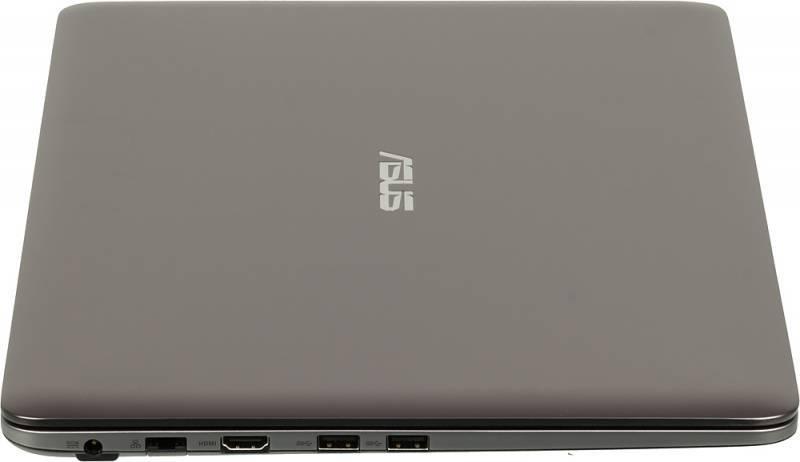 "Ноутбук 15.6"" Asus K501UX-DM035T серый - фото 6"