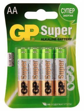 Батарея AA GP Super Alkaline 15A LR6 (8шт)