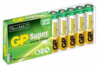Батарея AAA GP Super Alkaline 24A LR03 (10шт)