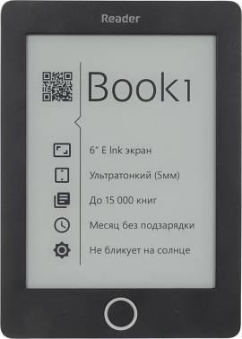 Book 1  E-ink HD Pearl 4096Мб черный