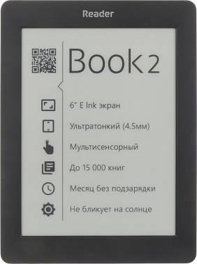 Электронная книга 6 Reader Book 2 черный