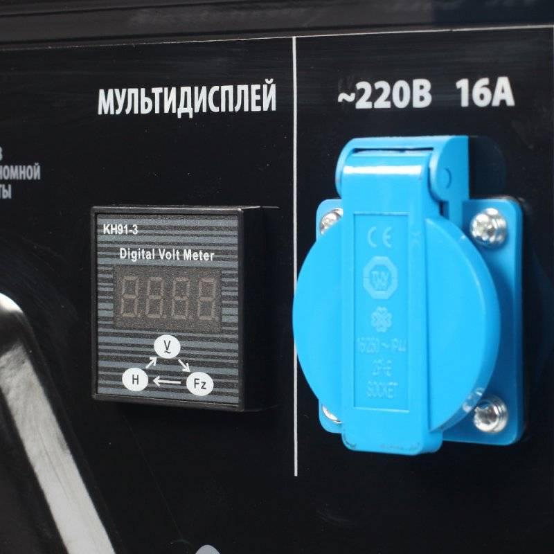 Генератор Patriot GP 3510E (474101540) - фото 4