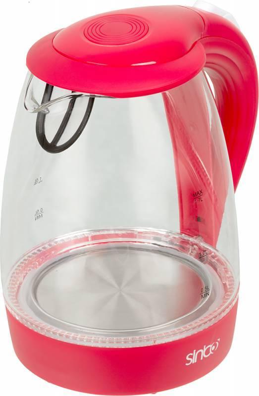Чайник электрический Sinbo SK 7338 красный - фото 1