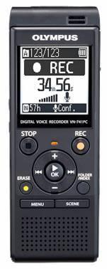 Диктофон 4Gb Olympus VN-741PC черный