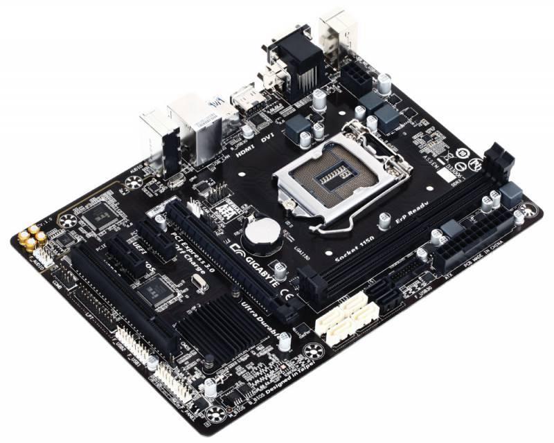 Материнская плата Soc-1150 Gigabyte GA-B85M-HD3 R4 mATX - фото 1