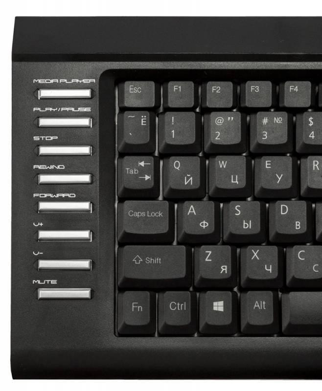 Клавиатура Oklick 350M черный - фото 3
