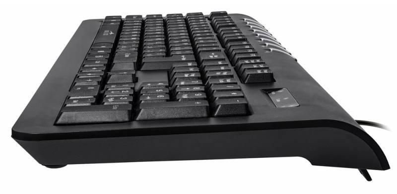 Клавиатура Oklick 360M черный - фото 3