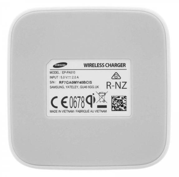 Зарядная крышка Samsung EP-PA510BWRGRU белый (EP-PA510BWRGRU) - фото 4