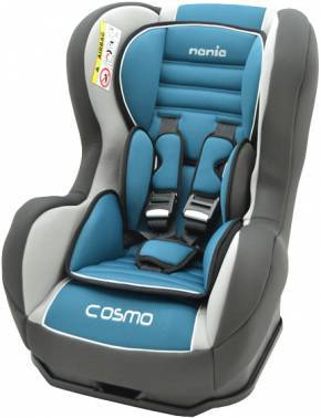 Автокресло детское Nania Cosmo SP LX (agora petrole) голубой / серый