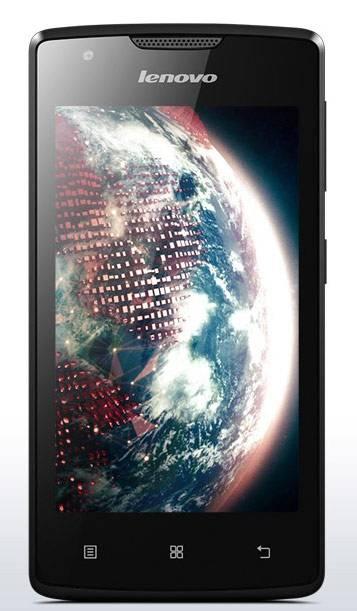 Смартфон Lenovo A1000 8ГБ черный - фото 1