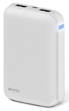 Мобильный аккумулятор Hiper SP7500 Li-Ion 7500mAh белый