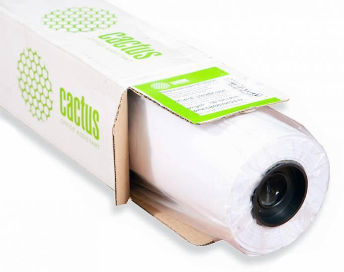 "Бумага Cactus Eco CS-LFP80-610457E 24""(A1) 610мм-45.7м 80г/м2 - фото 1"