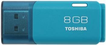 Флеш диск 8Gb Toshiba Hayabusa U202 USB2.0 голубой