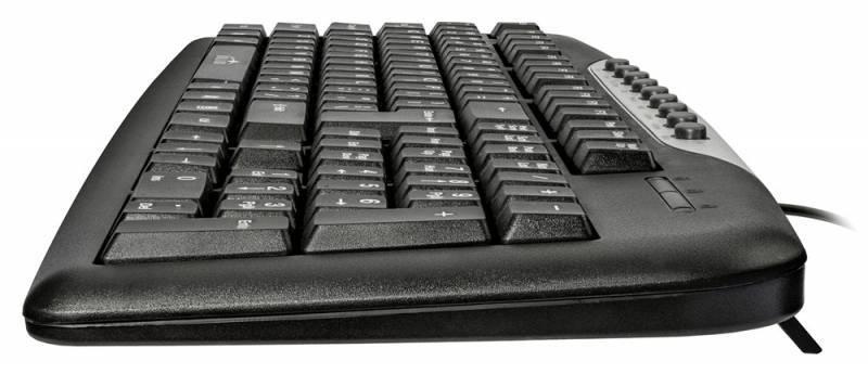 Клавиатура Oklick 370M черный/серебристый (8139) - фото 3