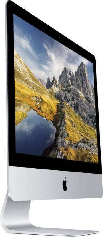 "Моноблок 21.5"" Apple iMac MK142RU/A серебристый/черный - фото 3"