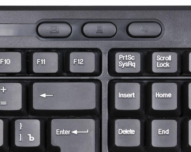 Клавиатура Oklick 390M черный - фото 6