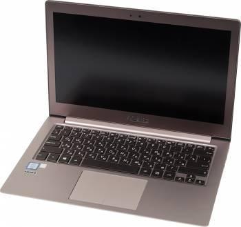Ноутбук Asus Zenbook UX303UB-R4096T, процессор Intel Core i5 6200U, оперативная память 4Gb, жесткий диск 1Tb, видеокарта nVidia GeForce 940M 2Gb, диагональ 13.3, 1920x1080, Windows 10 64-bit, коричневый, Bag (90NB08U1-M01500)
