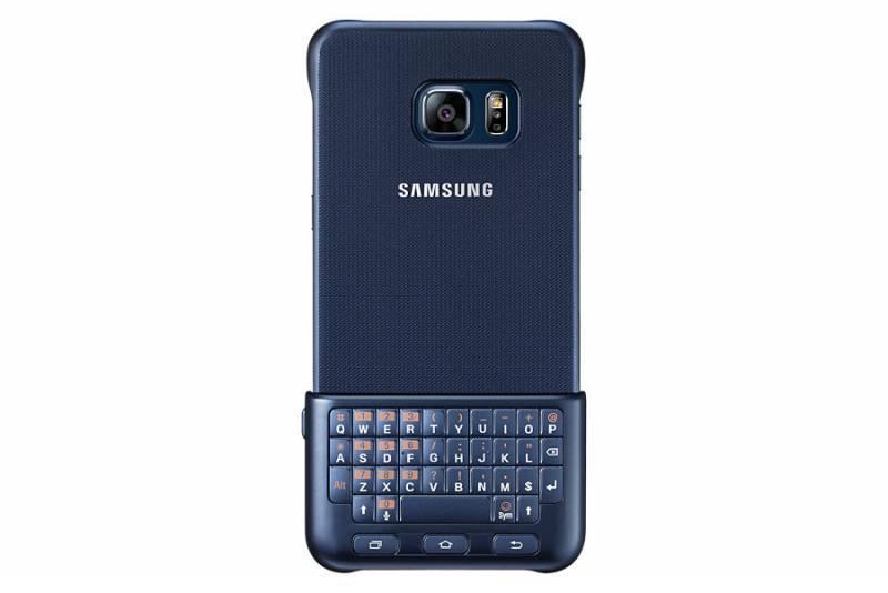 Чехол Samsung Keyboard Cover, для Samsung Galaxy S6 Edge Plus, черный (EJ-CG928RBEGRU) - фото 2
