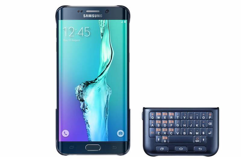 Чехол Samsung Keyboard Cover, для Samsung Galaxy S6 Edge Plus, черный (EJ-CG928RBEGRU) - фото 3