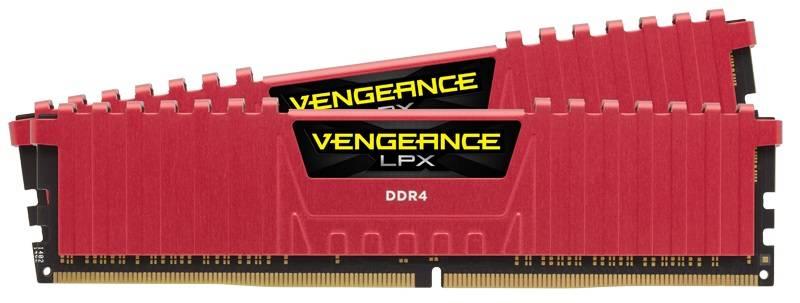 Модуль памяти DIMM DDR4 2x8Gb Corsair (CMK16GX4M2B3200C16R) - фото 1