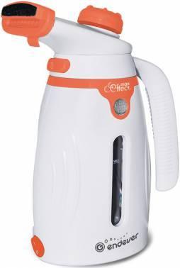 Отпариватель Endever Odyssey Q-418 белый/оранжевый (60014)
