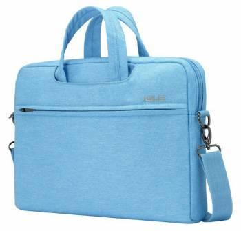 """Сумка для ноутбука 12"""" Asus EOSSHOULDERBAG голубой (90XB01D0-BBA010)"""