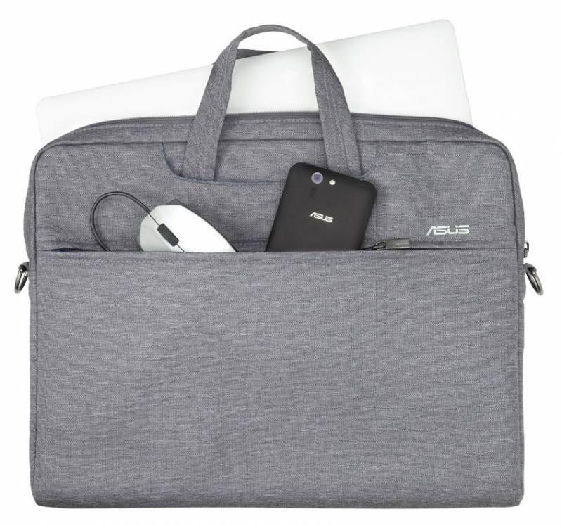 """Сумка для ноутбука 16"""" Asus EOS Carry Bag серый - фото 4"""