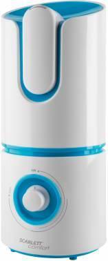 Увлажнитель воздуха Scarlett SC-AH986M05 белый / голубой