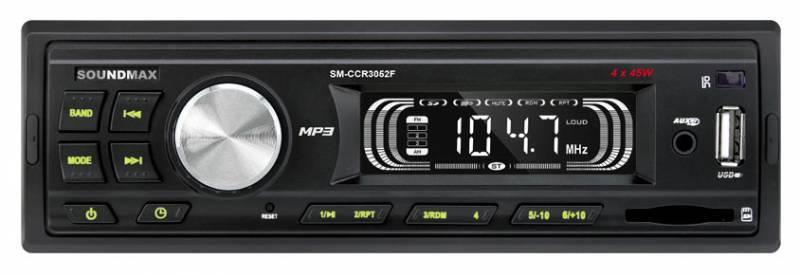 Автомагнитола Soundmax SM-CCR3052F - фото 1