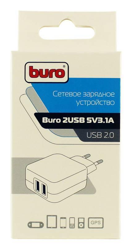 Сетевое зар./устр. Buro TJ-134b черный - фото 5