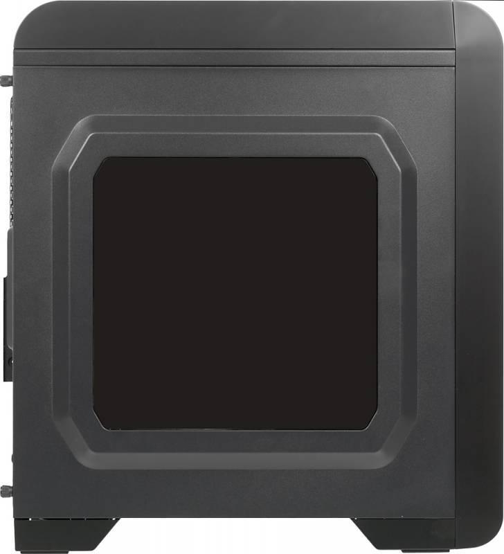 Корпус mATX Aerocool Qs-240 черный - фото 3