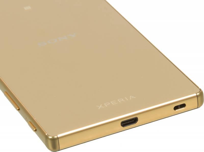 Смартфон Sony Xperia Z5 Premium E6853 32ГБ золотистый - фото 8