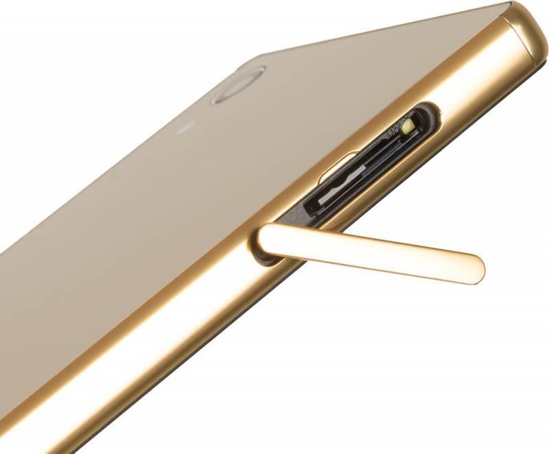Смартфон Sony Xperia Z5 Premium E6853 32ГБ золотистый - фото 10
