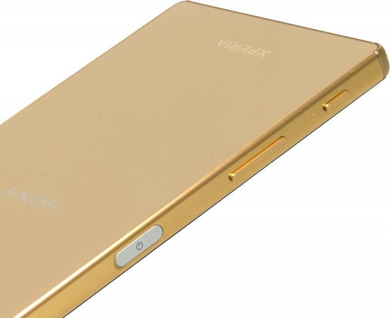 Смартфон Sony Xperia Z5 Premium E6853 32ГБ золотистый - фото 11