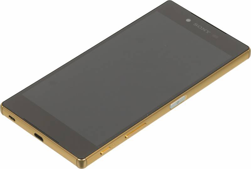 Смартфон Sony Xperia Z5 Premium E6853 32ГБ золотистый - фото 2