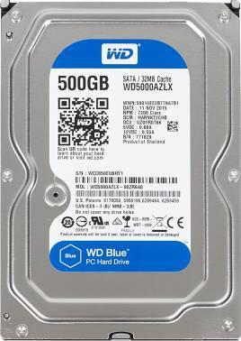 Жесткий диск 500Gb WD Blue WD5000AZLX SATA-III