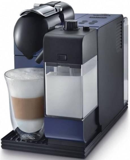 Капсульная кофеварка Delonghi Nespresso EN 520.B  синий/черный - фото 1