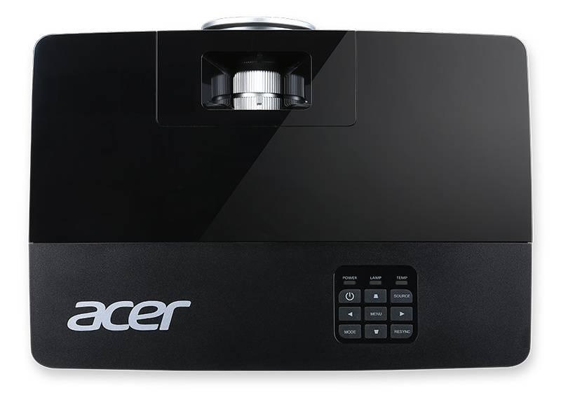 Проектор Acer P1285 черный (MR.JLD11.00K) - фото 6
