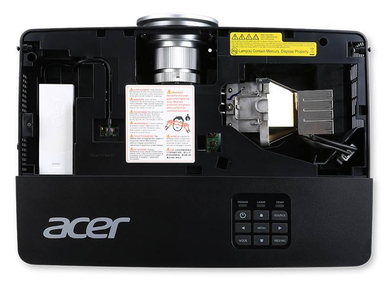 Проектор Acer P1285 черный (MR.JLD11.00K) - фото 8