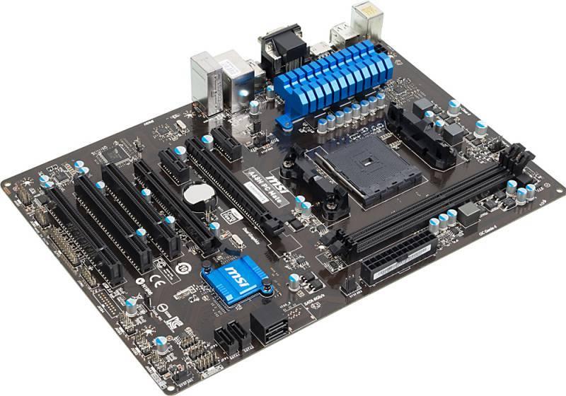 Материнская плата Soc-FM2+ MSI A68H PC MATE ATX - фото 3