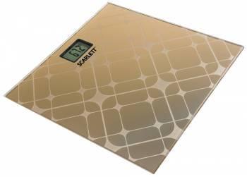Весы напольные электронные Scarlett SC-BS33E073 аквамарин (SC - BS33E073)
