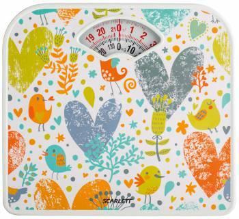 Весы напольные механические Scarlett SC-BS33M040 рисунок / сердца